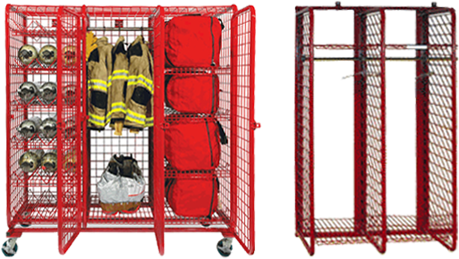 Fire Station - Safety Equipment Lockers