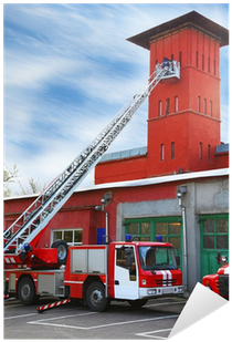 Fire Station - Truck With Ladder Extended