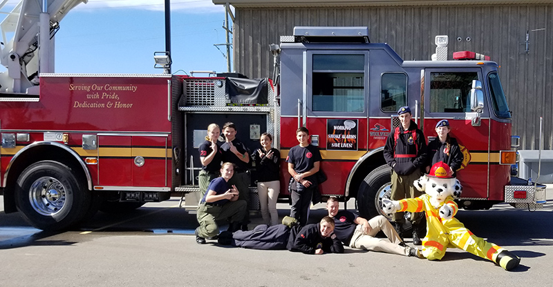 Search and Rescue Team at Brelau Fire Department