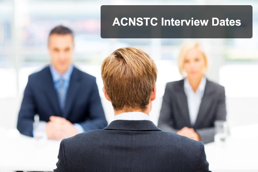 ACNSTC - Interviews